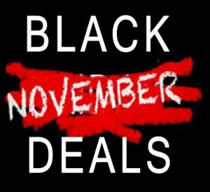 Black November Deals van 9/11 t/m 28/11